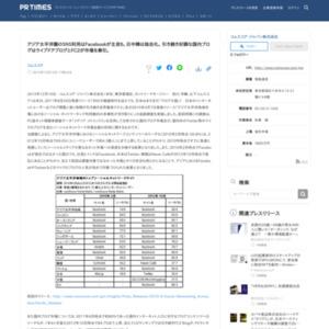 アジア太平洋圏のSNS利用はFacebookが主流も、日中韓は独自化。 引き続き好調な国内ブログはライブドアブログとFC2が市場を牽引