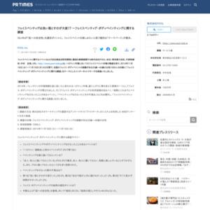 フェイスペインティング・ボディペインティングに関する調査