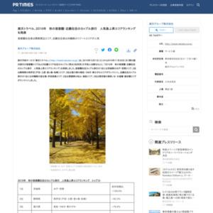 秋の首都圏・近畿在住のカップル旅行 人気急上昇エリアランキング
