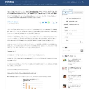 日本人の庭/ベランダ/バルコニー利用に関する意識調査