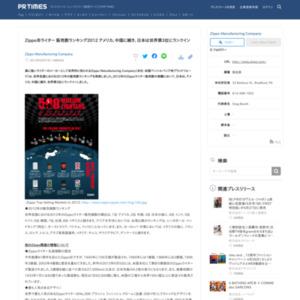 Zippoライター 販売数ランキング2012