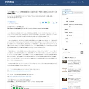 世界の食文化と日本に対する意識調査