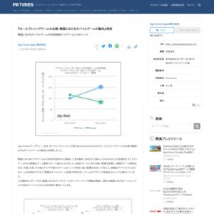 ロールプレイングゲームの台頭:韓国におけるモバイルゲームの動向