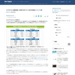 各政党・立候補予定者の『ネット活用状況調査』