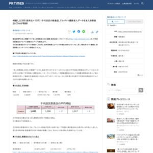 千代田区の飲食店、アルバイト最新求人データ