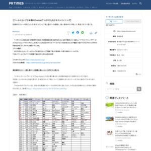 ワールドカップ日本戦のTwitter「つぶやき」をテキストマイニング