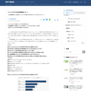 コンビニATMの利用実態調査レポート