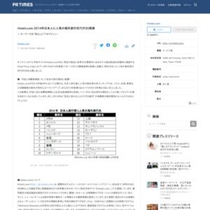 2014年日本人に人気の海外旅行先TOP20