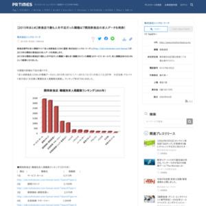 2015年の関西の飲食店の求人データ