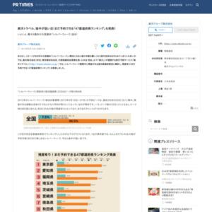まだ予約できる「47都道府県ランキング」