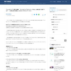 """""""キレイのピンチ""""に関する調査"""