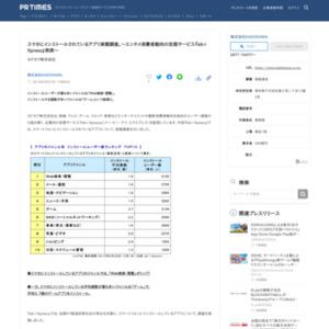 スマホにインストールされているアプリ実態調査 KADOKAWA