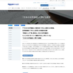 「日本の世界遺産」に関する調査