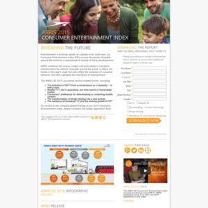 2015 ARRIS消費者エンターテイメント指標 (CEI)