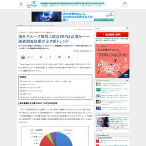 「ERPのグループ利用」に関するアンケート調査