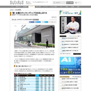 最新版!「新・企業力ランキング」トップ300社
