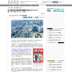 平均年収「東京除く関東290社」ランキング