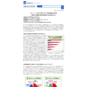 東日本大震災における「帰宅困難調査」