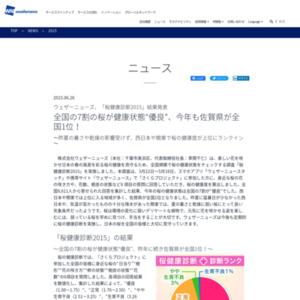 桜健康診断2015