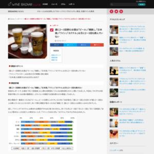 週に2~3回飲むお酒は「ビール」「焼酎」。「日本酒」「ワイン」「カクテル」は月に2~3回も飲んでいない