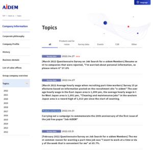 2015年卒学生対象 就職活動に関する調査 【2014年2月末状況】