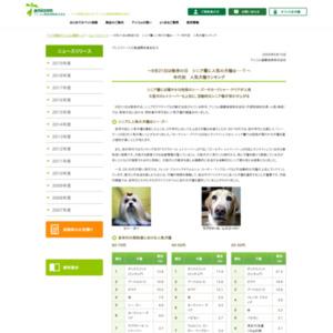 年代別 人気犬種ランキング