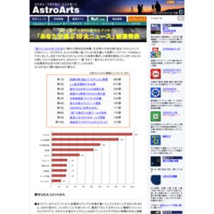星ナビ10周年記念 WEBアンケート 「あなたが選ぶ10大ニュース」