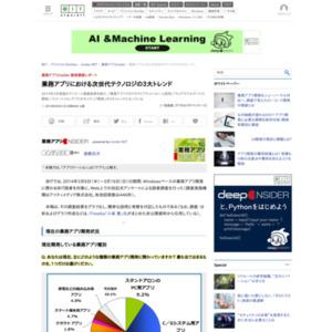業務アプリInsider 読者調査レポート