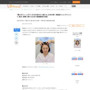 頭皮・頭髪に関する女性の意識調査