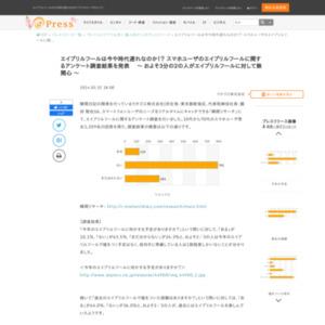 スマホユーザのエイプリルフールに関するアンケート調査
