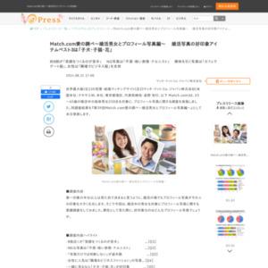 Match.com愛の調べ~婚活男女とプロフィール写真編~