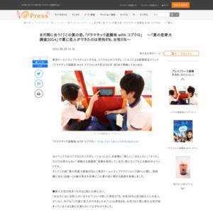 夏の恋愛大調査2014