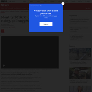 Identity 2016: 'Global citizenship' rising, poll suggests