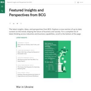 2014年版BCGグローバルウェルス・レポート