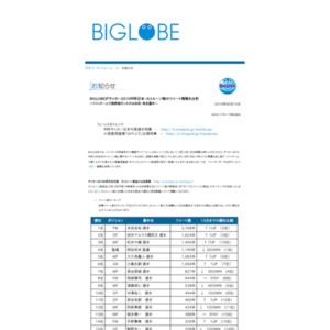BIGLOBEがサッカー2010W杯日本・カメルーン戦のツイート情報を分析