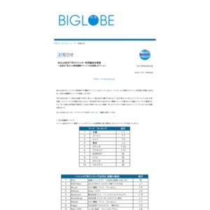 BIGLOBEが7月のツイッター利用動向を発表~注目は「花火」と時刻連動ツイート「なる四時」のブーム~