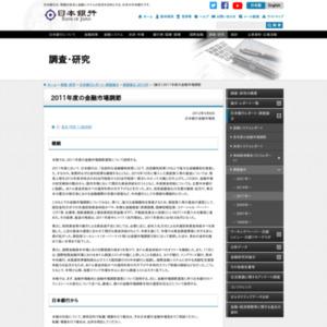 (論文)2011年度の金融市場調節