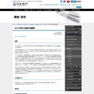 (論文)2012年度の金融市場調節
