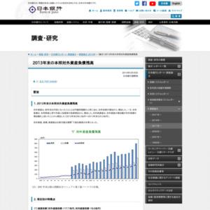 (論文)2013年末の本邦対外資産負債残高