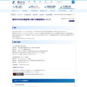 横浜市内民泊施設等に関する調査