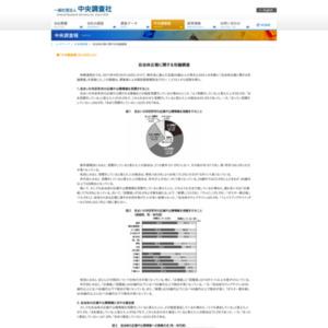 自治体広報に関する世論調査