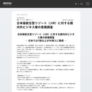 日本版統合型リゾート(JIR)に対する国内外ビジネス層の意識調査