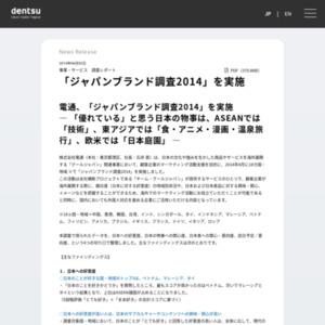 ジャパンブランド調査2014