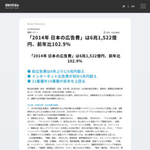 2014年 日本の広告費