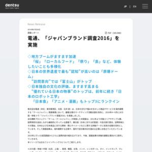 ジャパンブランド調査2016
