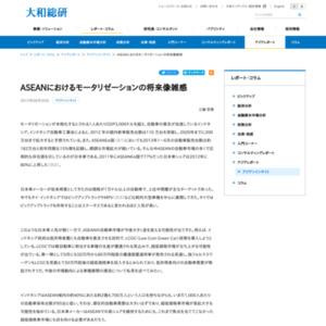 ASEANにおけるモータリゼーションの将来像雑感