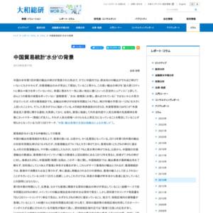 中国貿易統計'水分'の背景