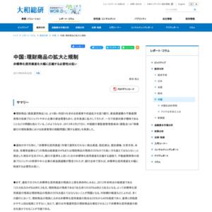 中国:理財商品の拡大と規制