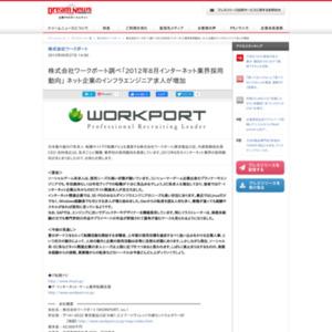 2012年8月インターネット業界採用動向