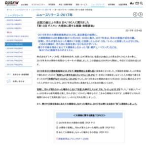 第13回 ダスキン 大掃除に関する意識・実態調査